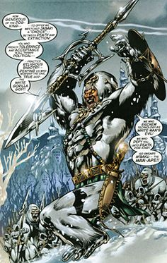 Man-Ape (M'Baku) is a fictional character, a supervillain appearing in American comic books published by Marvel Comics. The character is depicted as a frequent enemy of the Black Panther.