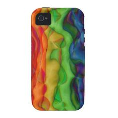 Cool iPhone Cases | groovy dude psychedelic trip in vivid color with roygbiv all tangled ...
