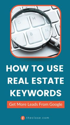 Finding the best real estate keywords for your farm area is going to take a lot more work. Here's a list of some of the best performing real estate keywords that will get you more leads in 2022. #realestate #realestatekeywords #realestatemarketing #realestateselling #finance Seo Software, Selling Real Estate, Real Estate Marketing, Digital Marketing, Finance, Led, Economics