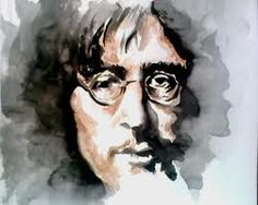 John Lennon - watercolor