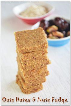 Dates, Oats & Nut Fudge