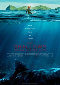 The Shallows - Blake Lively - 2016 - thriller - movie poster - sharks - scary