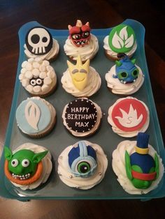 Skylanders Trap Team Cupcakes Cupcake and Skylanders