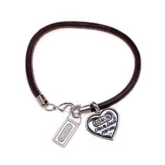 Coach Heart Logo Coffee Bracelets AKZ
