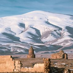 Ani is a ruined medieval Armenian city-site situated in the Turkish province of Kars, near the border with Armenia // Photography by Meric Hakan (merichakan)