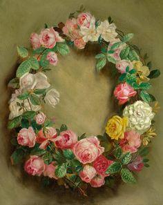 Pierre Auguste Renoir Couronne of Roses 1858