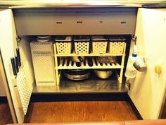 キッチンシンク下収納 の画像|収納オタク