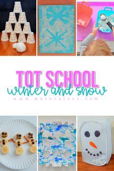 Tot School Winter Snow Week