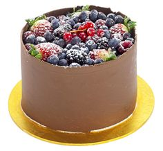 My favorite kinda cake... and i'm getting another one!! Patisserie Valerie - Special Occasion Cakes - Fruits of the Forest Gateau with Dark Chocolate