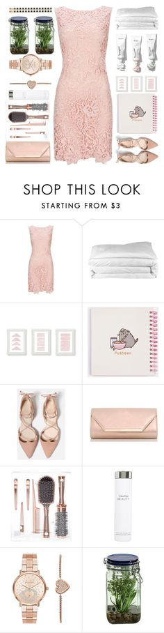 """What is happening to me?😽"" by itaylorswift13 ❤ liked on Polyvore featuring Frette, Pusheen, Dorothy Perkins, Calvin Klein, Michael Kors, Alöe and Kate Spade"