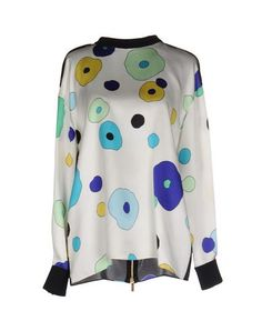 EMANUEL UNGARO Blouse. #emanuelungaro #cloth #dress #top #skirt #pant #coat #jacket #jecket #beachwear #