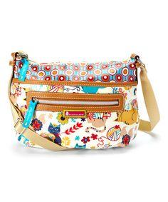 Look at this #zulilyfind! Furry Friends Tracey Crossbody Bag by Lily Bloom #zulilyfinds