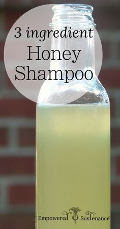 DIY Honey Shampoo- for more beauty, makeup, and nail art ideas and tips, got to www.sparkofallure.com