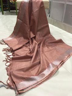 Excited to share this item from my shop: Fancy Linen cotton saree / cotton saree / Indian saree / saree blouse / sari blouse Active Trendy Sarees, Fancy Sarees, Bollywood, Coffee Colour, Saree Look, Sari Blouse, Cotton Saree, Crepe Saree, Khadi Saree