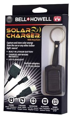Bell+Howell Solar Charger - Solar Charger Bell + Howell,http://www.amazon.com/dp/B00941IFLW/ref=cm_sw_r_pi_dp_pkwxtb03C6WMR2G2