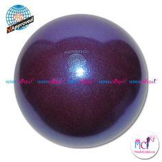 #Pelota de Gimnasia #Rítmica Pastorelli glitter-HV-blueberry
