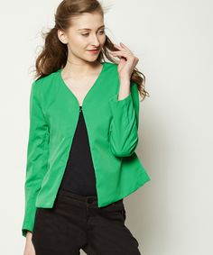 Ertina Casual Blazer - Green Online Shopping | 57128