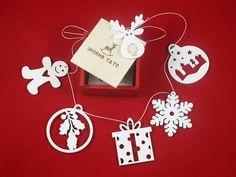 Set of 6 Childhood memories Wooden Christmas