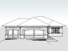 This house plan was carefully designed to include enough square footage for today's family without loss of exterior details that are so important to your neighborhood.The main living area lies to the back of the home and includes a spacious living room with corner fireplace, a kitchen with an island that overlooks the great room for visual access to the fireplace, and a dinette area with access to the back yard.The master suite also lies to the back of the home and includes a walk-in closet…