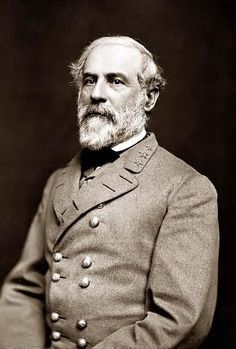 General Robert E. Lee (CSA). The Lee Estate was confiscated by the union army to be used as a field hospital at the order of Seward, Sec. Of War for President Lincoln. Arlington was Robert E. Lees home and now Arlington Nation Cemetery.