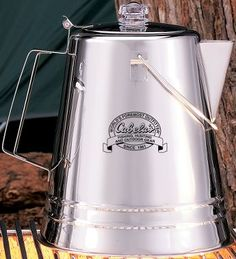Cabela's Stainless Steel High Temp Coffee Pot : Cabela's  Available: 14-cup, 28-cup and 36-cup