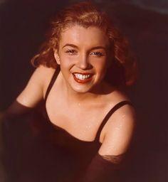 Norma Jeane by Richard C Miller in 1946. Born Norma Jeane Mortensen (baptized) Norma Jeane Baker, #Marilyn Monroe - http://dunway.us/