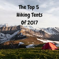Find out which tent is perfect for you on your adventures!