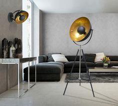 Броский и ультрасовременный торшер ANTENNE от ZumaLine станет объектом внимания и изюминкой интерьера в стилях модерн, лофт, модерн, контемпорари или transitional. Eames, Lounge, Home Appliances, Bulb, Flooring, Design, Chair, Furniture, Home Decor