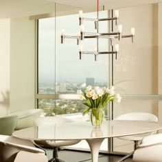 Nemo Crown Minor Chandelier - via Top Five Cool Contemporary Chandeliers Every Home Should Have, at www.sparksdirect.co.uk