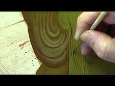 """3 2 El dibujo """"pasado"""" con tierra roja o papel carbón - YouTube"""
