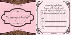 Mary Kay Hostess Invitations printable | Training Center Warm Chatter Invitations Mary Kay Consultant Business ...