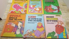 Set of 6 Sweet Pickles books, 1970s, Richard Hefter, vintage kids book by RandomGoodsBookRoom on Etsy
