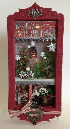 Absolutely Everything Christmas Wonderland Class by Richele Christiansen. Wish i was on the East Coast to take it!!