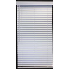 Allen + Roth 28-In W X 48-In L White Faux Wood Plantation Blinds 2Cfww