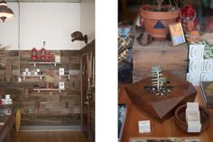 Half wood wall  Store Visit: Worn Path — Portland Supply Co.