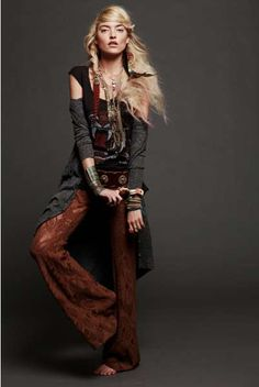 Modern Gypsy Ensembles - The Free People June 2011 Campaign is a Little Slack and Slinky (GALLERY)