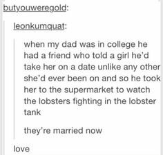 Image via We Heart It https://weheartit.com/entry/160583691 #funny #goodbye #lobsters #lol #marriage #tumblr #funnytumblr #tumblrposts #sodone #funnytumblrposts