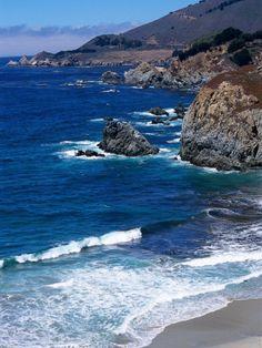 The Pacific Coast at Big Sur, California, by Harvey Schwartz