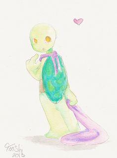 Turtle Tot - Donnie by Tenshilove.deviantart.com on @DeviantArt