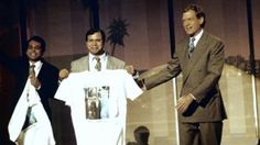 Sirajul, Mujibur and David Letterman