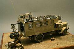 MB4500 workshop truck 1/35 Scale Model