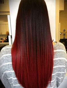 Red Highlights, Coloured Hair, Thick Hair, Hair Inspo, Hair Goals, Hair Color, Hair Beauty, Hairstyles, Long Hair Styles