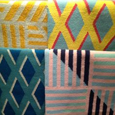 Another favourite at LDF / new rugs by Kangan Arora part of...