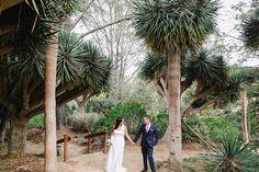 San Diego Botanic Garden Wedding San Diego wedding photography film and digital wedding poses www.allielindsey.com