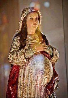 Nossa Senhora grávida PREGNANT Holy Mary
