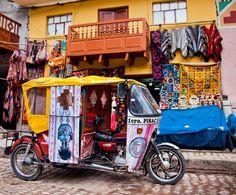Market of Pisac, Peru