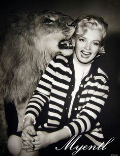All animals love Marilyn just as she loved them.