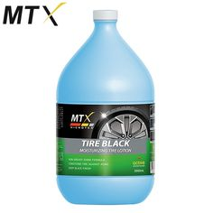 Non-greasy Model: MA-T3800 Shine formula Conditions Tire against aging Deep Black Finish 3800mL Active Conditioner Moisturizing Tire Anti-dust Prevents Cracking Contains: Silicone fluids, Emulsifiers, Conditioning agent