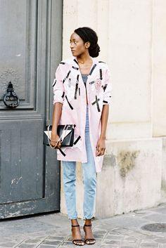 Vanessa Jackman: Paris Fashion Week SS 2015