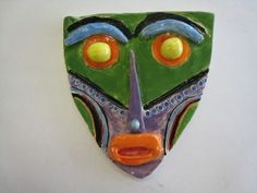 African Masks: Clay Slab Project